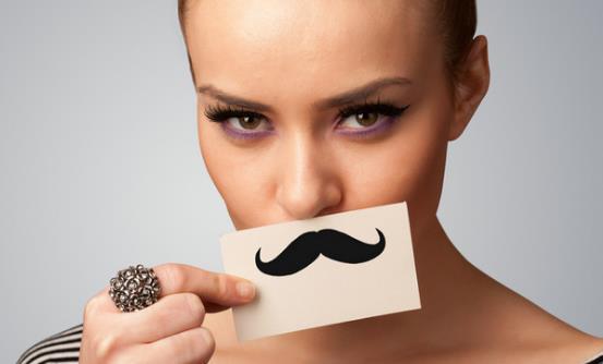 女生嘴唇上长胡子怎么办